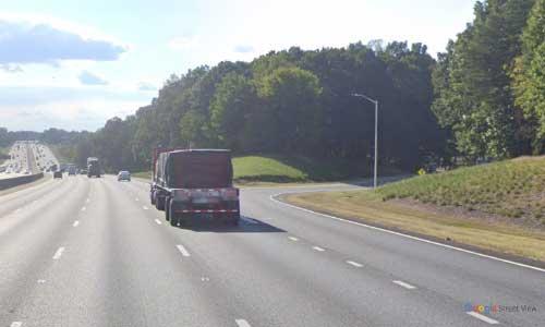 nc i85 north carolina alamance rest area southbound exit mile marker 139