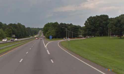 nc i85 north carolina cleveland welcome center northbound exit mile marker 2