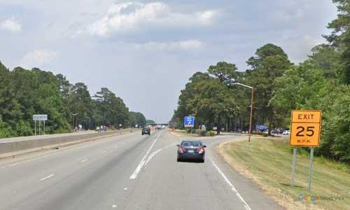 nc i95 north carolina johnston rest area northbound exit mile marker 99