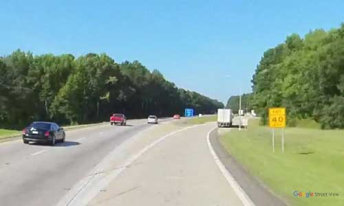 nc i95 north carolina nash rest area southbound exit mile marker 142