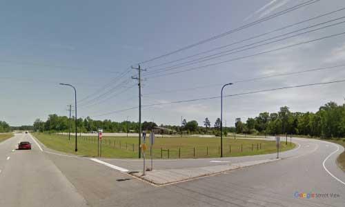 nc us17 north carolina beaufort rest area bidirectional access