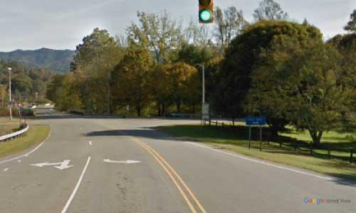 nc us19a us129 north carolina cherokee rest area bidirectional access