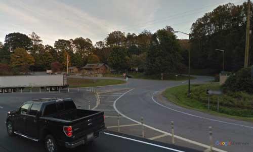 nc us23 us74 north carolina haywood rest area bidirectional access 1 mile east of blue ridge pkwy